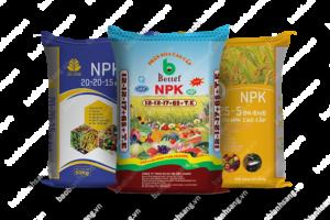 Bao phân NPK do Bao Bì Ánh Sáng sản xuất