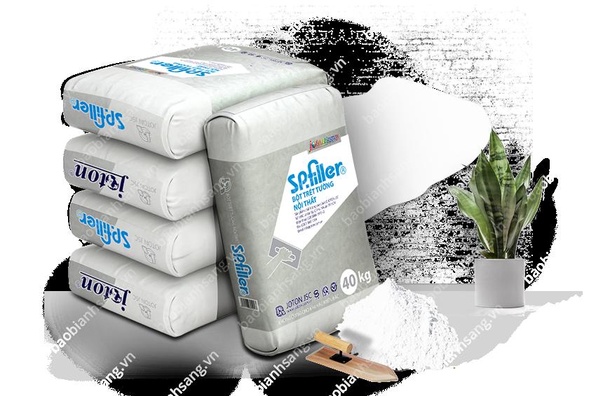 Bao bì bột trét tường bảo vệ tối đa vật đựng bên trong