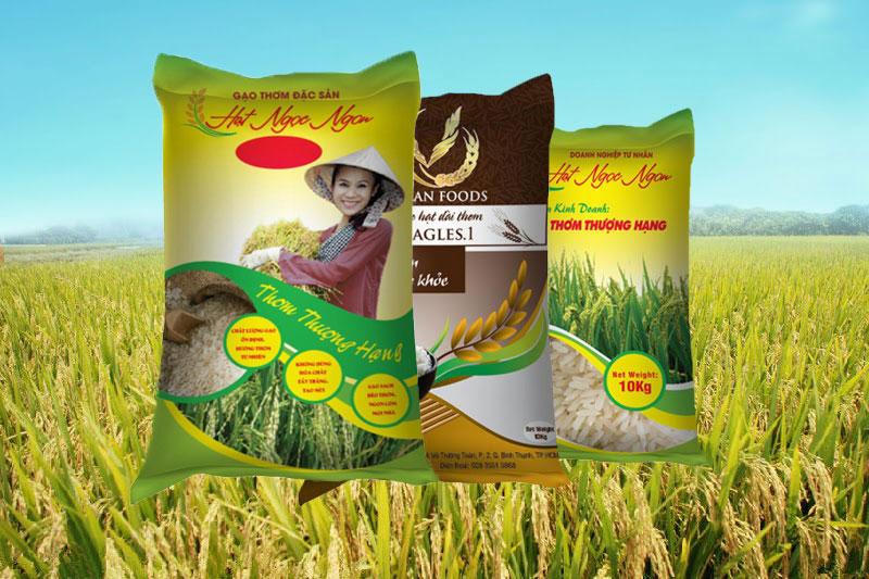 bao bì gạo đẹp bbas