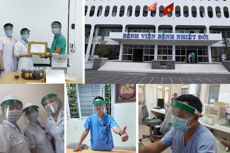 Hơn 1000 Kính Bảo Hộ Phòng Covid-19 Đã Được Gửi Đến Các Y Bác Sĩ