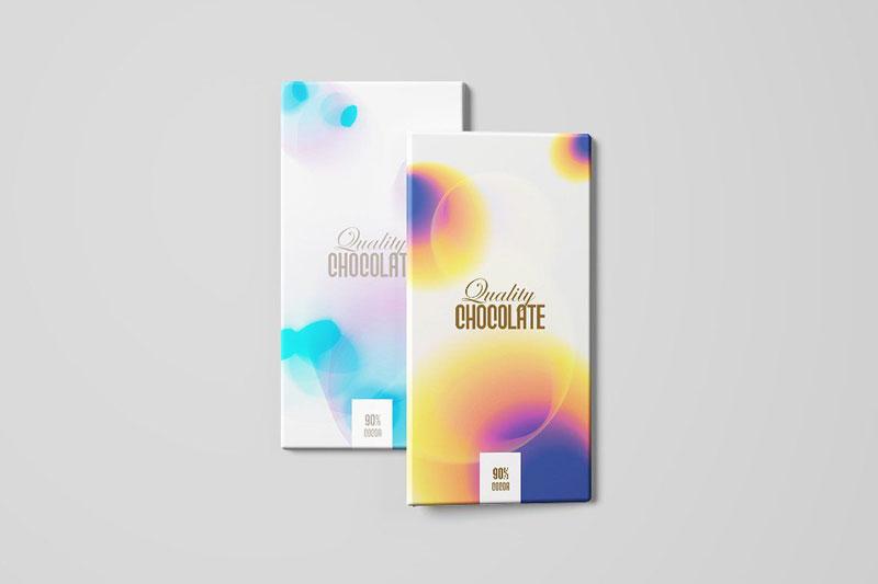 Bao bì có màu sắc, hình ảnh mờ cực bắt mắt và thể hiện dấu ấn thương hiệu - xu hướng thiết kế bao bì đẹp nhất 2020