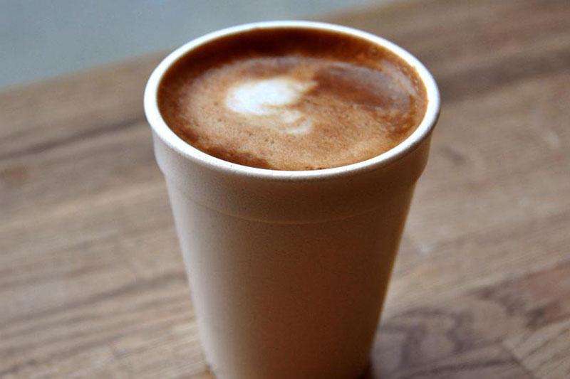 Giấy tráng phủ 1 mặt dùng để đựng cafe - giấy tráng phủ một mặt