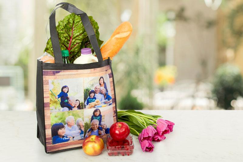Túi vải PP dệt đựng thực phẩm rất an toàn - túi vải pp dệt