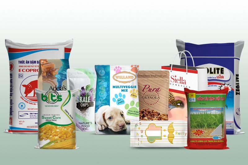 Bao bì trên thị trường hiện nay rất đa dạng về kiểu dáng, mẫu mã - phân loại bao bì