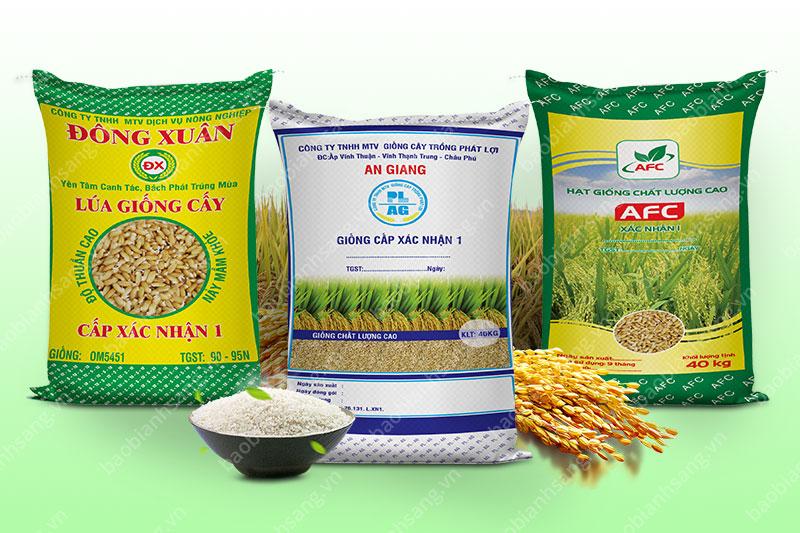 Bao đựng lúa cao cấp giúp bảo vệ và nâng cao giá trị sản phẩm - mua bao đựng lúa