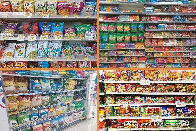 Bao bì nhựa đa dạng trong các siêu thị - ngành bao bì nhựa trong nước