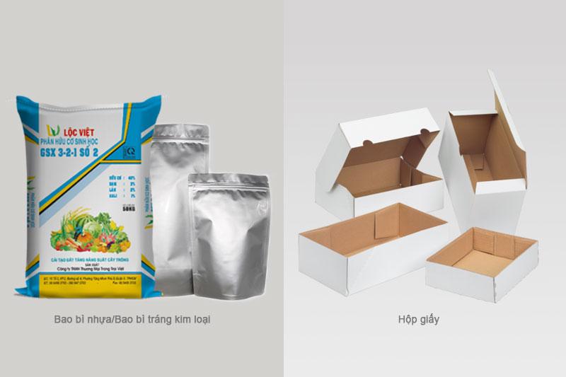Bao bì nhựa, carton/giấy, kim loại xuất hiện ngày càng nhiều - lịch sử phát triển ngành bao bì