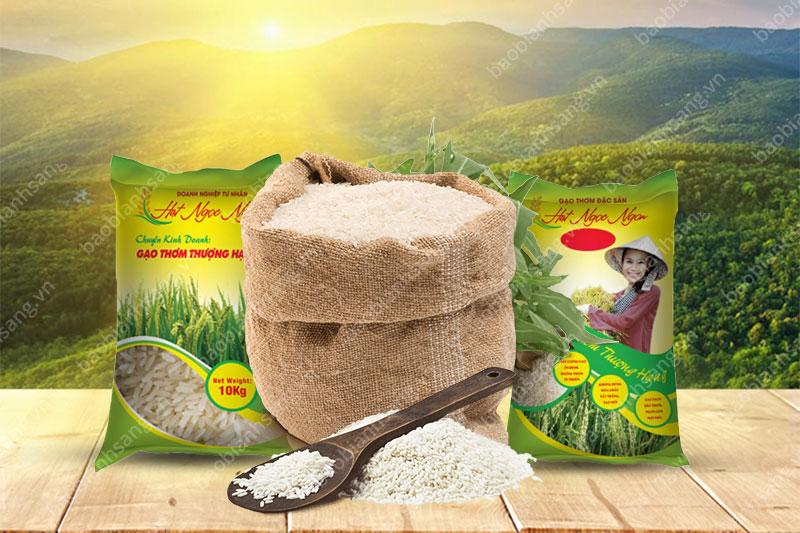Thiết kế bao gạo chân thực, sáng tạo sẽ làm nên ấn tượng và sự khác biệt - thiết kế bao bì gạo