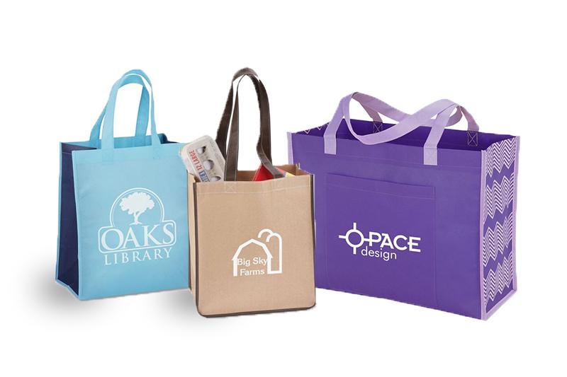 Túi xách siêu thị đủ kiểu dáng, màu sắc - may túi xách siêu thị