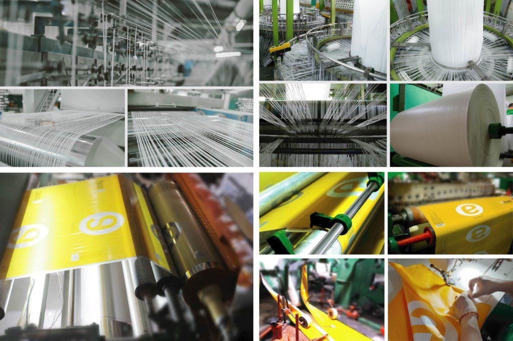 Công nghệ in ống đồng cho ra sản phẩm có màu sắc bắt mắt - túi xách siêu thị pp
