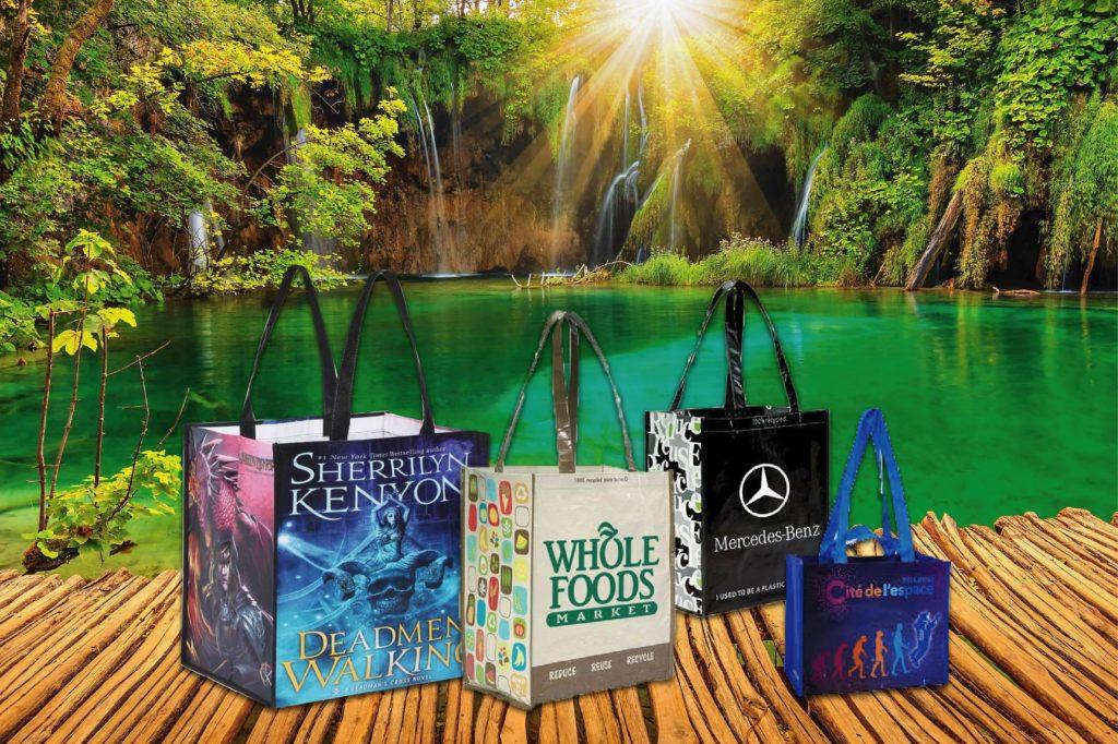 In thương hiệu lên túi PP sẽ góp phần mang tên tuổi doanh nghiệp lan tỏa khắp nơi - may túi xách pp theo yêu cầu
