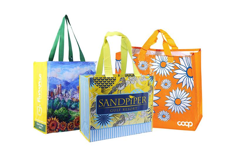Túi siêu thị PP vừa an toàn lại tiện lợi với nhiều mẫu mã ấn tượng - xưởng may túi siêu thị