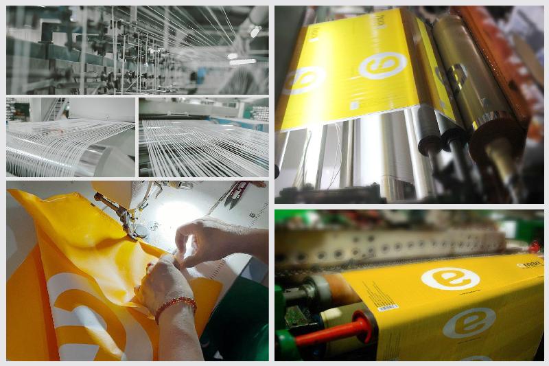 Tổng hợp một vài công đoạn của quy trình sản xuất túi vải PP dệt - túi pp dệt xuất khẩu