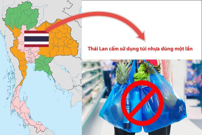 Thái Lan cấm sử dụng túi nhựa dùng một lần - ngành bao bì nhựa trong nước