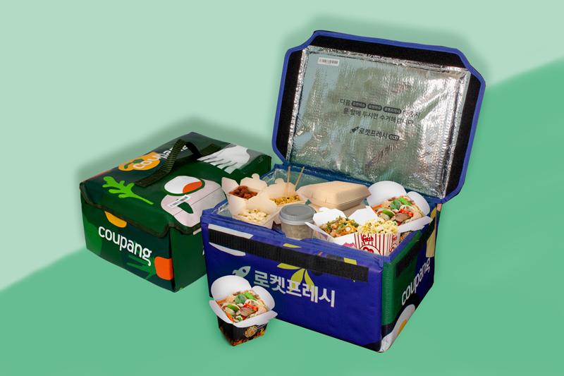 Sản phẩm túi giữ nhiệt của Bao Bì Ánh Sáng xuất khẩu sang Hàn Quốc