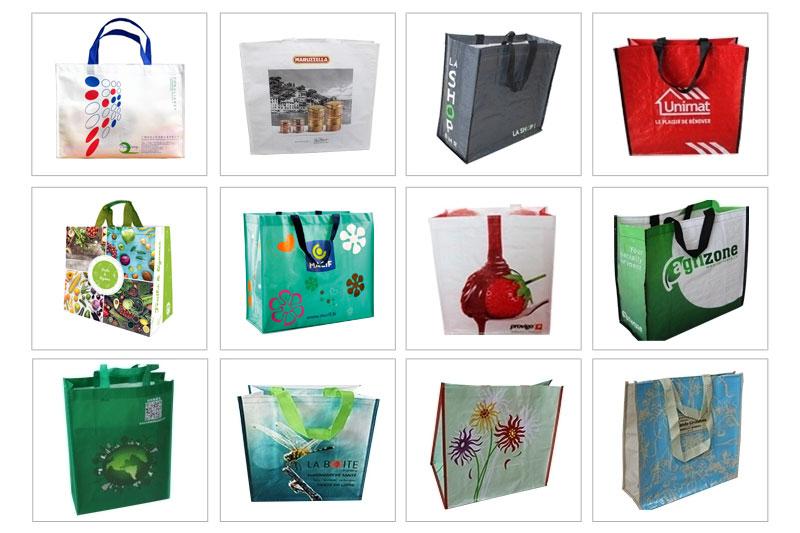Túi vải PP dệt đa dạng mẫu mã - túi xách pp