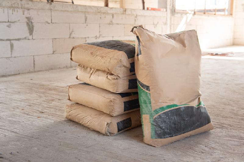 Nhiều bao bì phụ gia xây dựng không đảm bảo được chức năng bảo quản