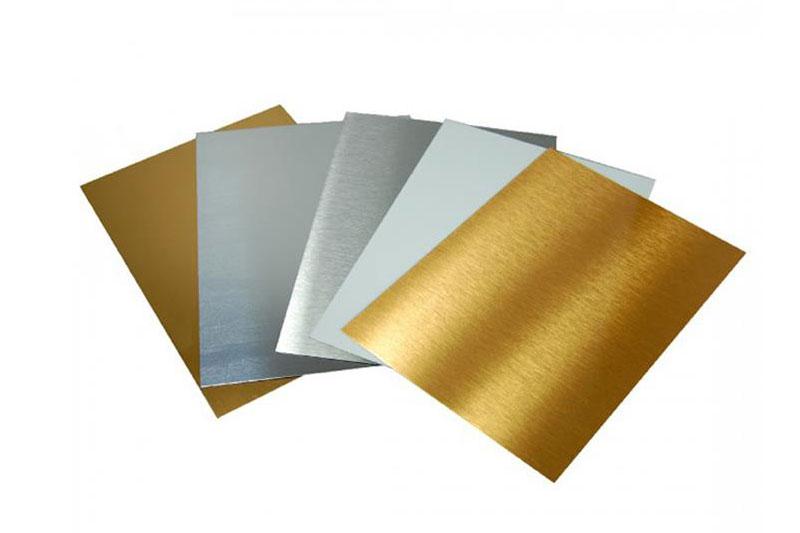 giấy tráng nhôm dạng tờ