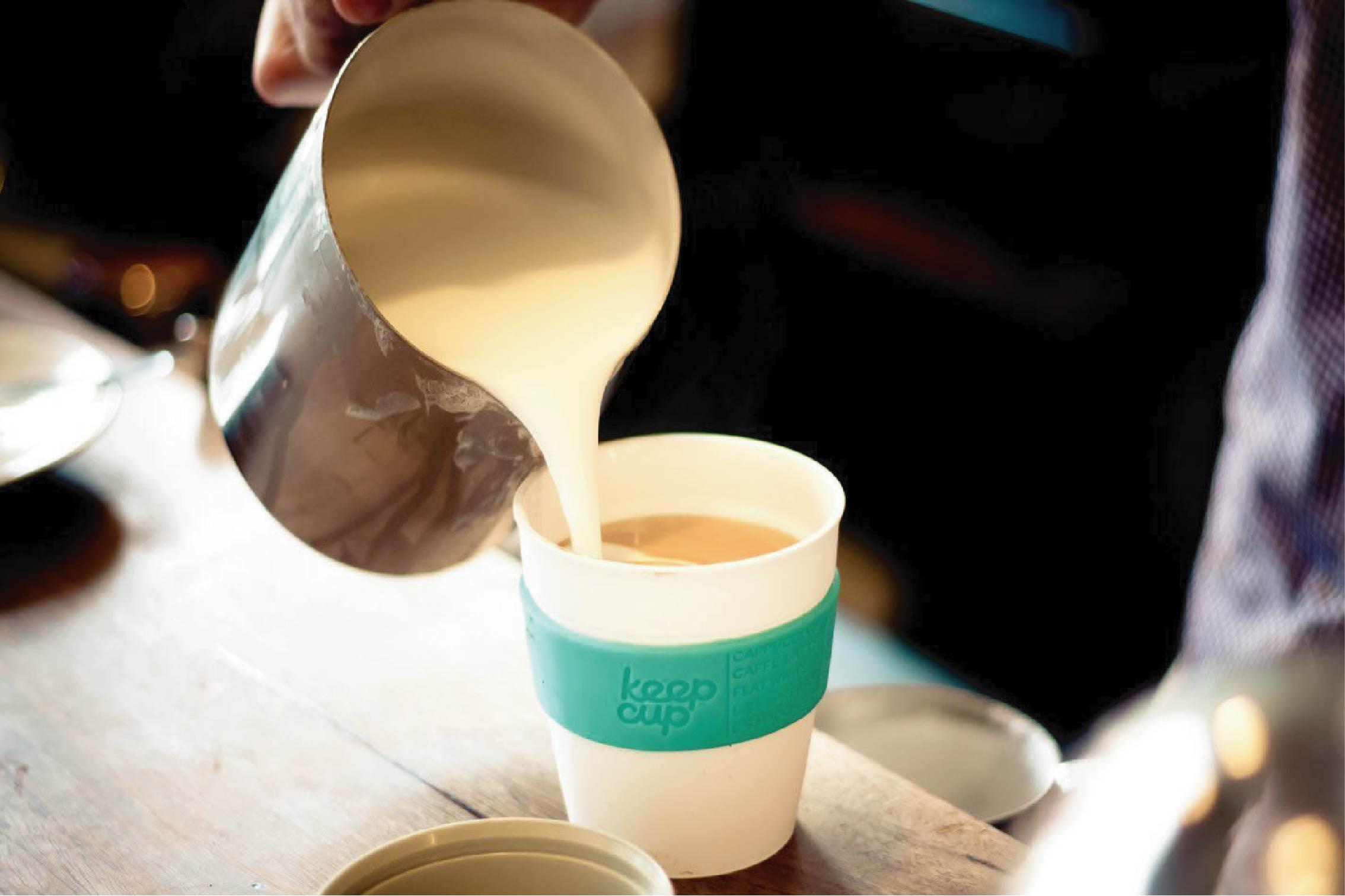 Ly giấy đựng trà sữa an toàn, vệ sinh