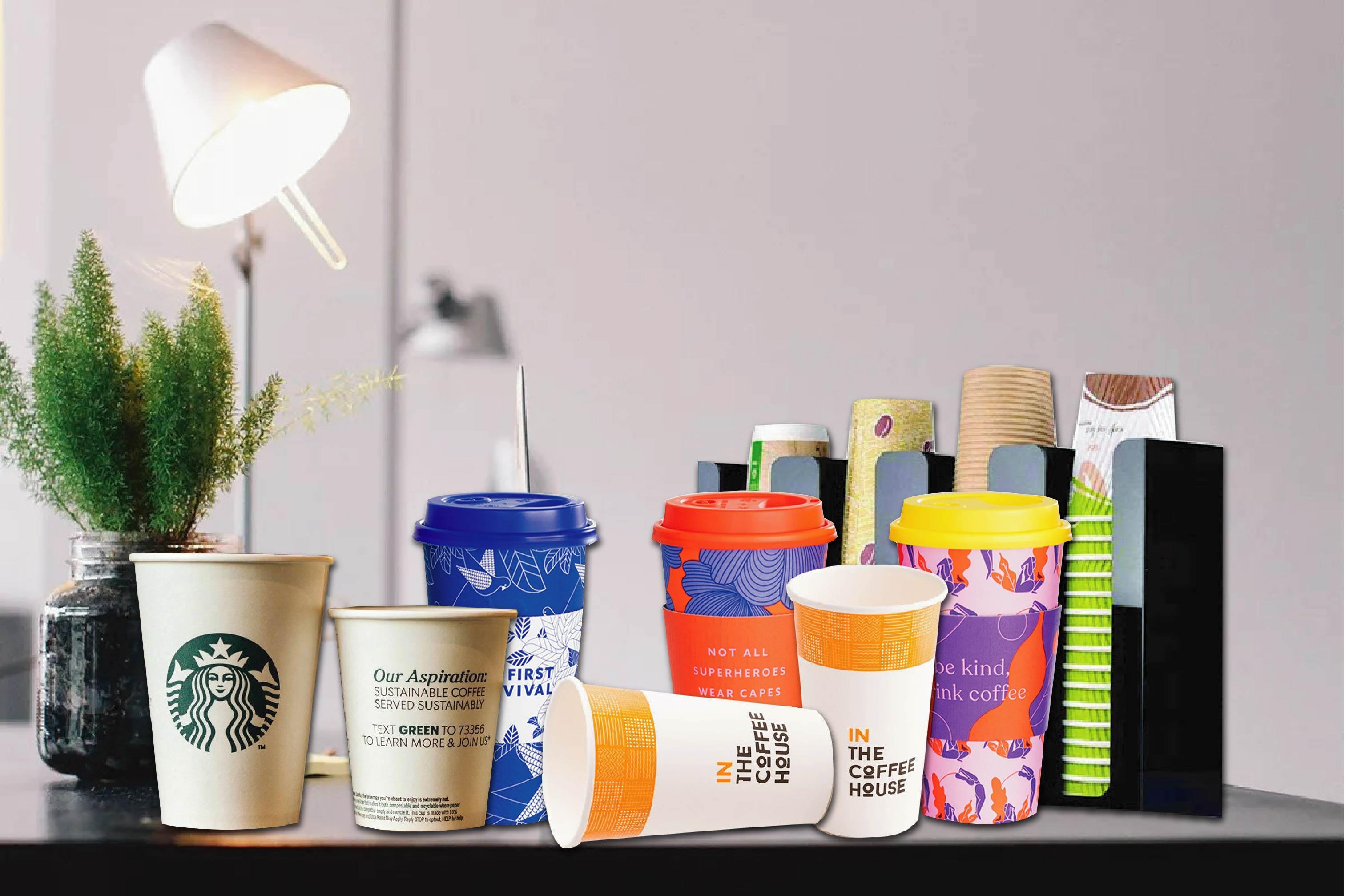 Ly giấy được nhiều chuỗi cửa hàng thức ăn nhanh lớn trên thế giới sử dụng - ly giấy dùng một lần