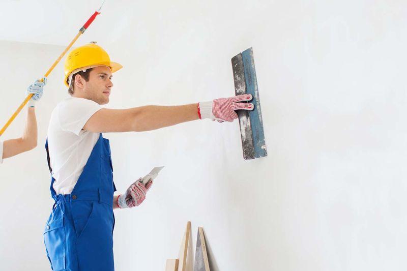 Pha bột trét tường - hướng dẫn sử dụng bột trét tường