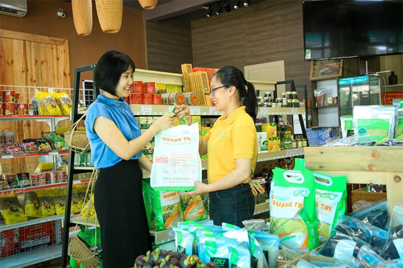 Túi vải không dệt sử dụng trong các cửa hàng Việt Nam - túi vải không dệt là gì