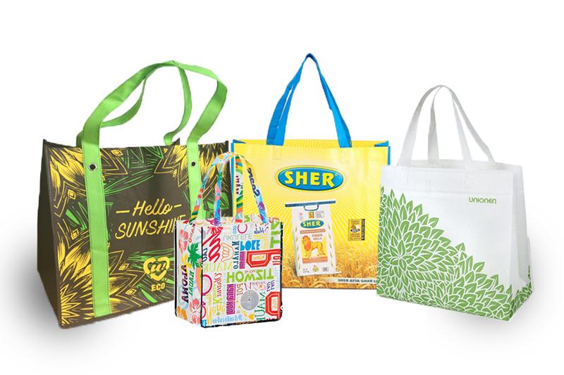 Thiết kế túi siêu thị phải thật ấn tượng, bắt mắt - túi siêu thị pp