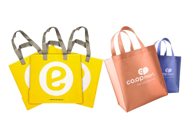 Emart, Coopmart,... là đơn vị tiên phong sử dụng túi xách PP - mua túi xách pp