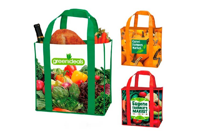 Túi xách siêu thị cần có hình ảnh hài hoà
