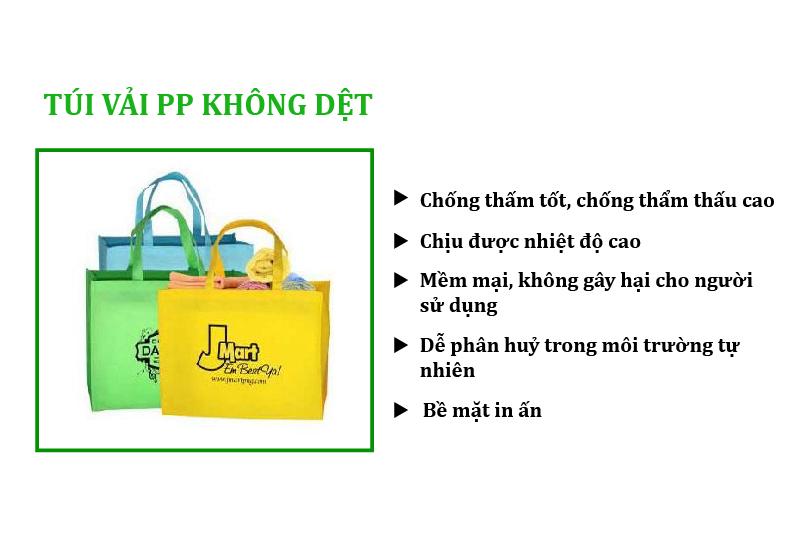 Túi siêu thị vải PP không dệt có nhiều ưu điểm nổi trội - công ty may túi siêu thị xuất khẩu