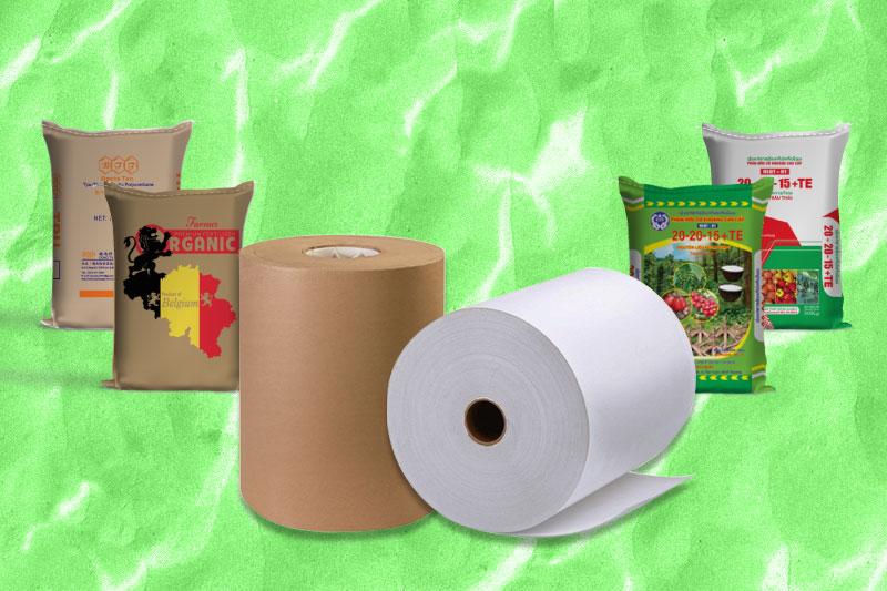 Bao Bì Ánh Sáng sở hữu nguồn giấy Kraft và vải PP dệt chất lượng cao - mành pp dệt - mành pp ghép kraft
