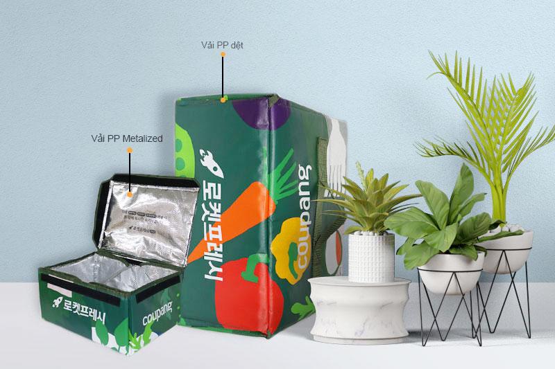 Cấu trúc túi giữ nhiệt của BBAS - Túi giữ nhiệt giao hàng TPHCM