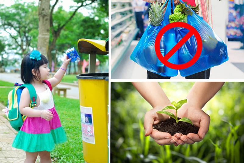 Có nhiều giải pháp giúp giảm bớt tình trạng ô nhiễm - túi vải không dệt tphcm