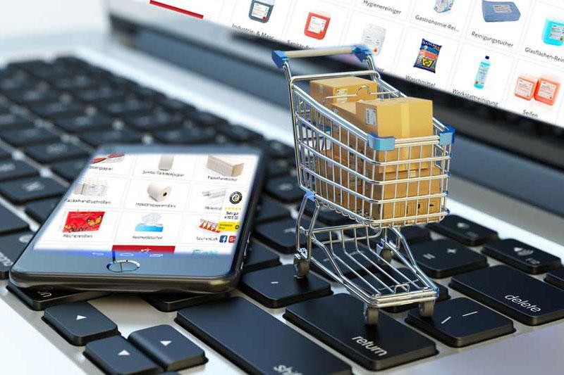 Công nghệ phát triển, mua sắm online lên ngôi