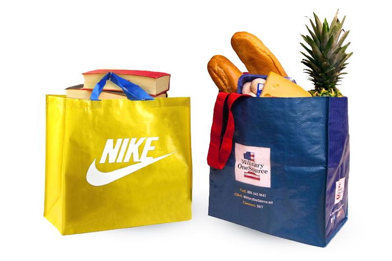 Túi xách PR có thể tái sử dụng đựng thực phẩm, đựng tập sách,... - túi xách event