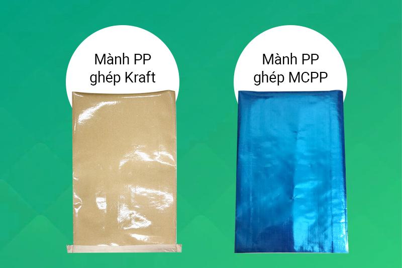 Doanh nghiệp nên chọn mành PP ghép Kraft hay mành PP ghép màng MCPP?