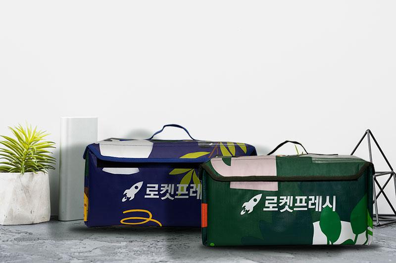 Các sản phẩm túi giao hàng shipper cao cấp của BBAS