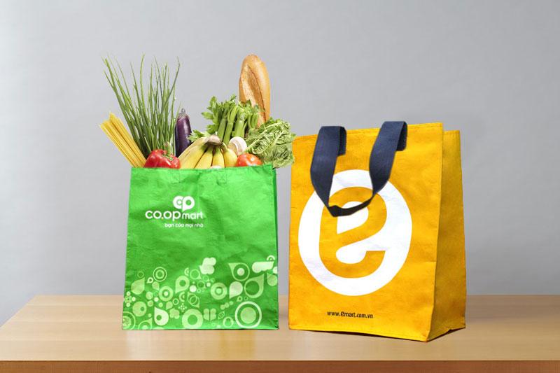 Túi siêu thị của Bao Bì Ánh Sáng được nhiều doanh nghiệp lựa chọn - sản xuất túi siêu thị xuất khẩu