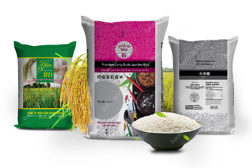 Bao bì gạo của Bao Bì Ánh Sáng luôn đồng hành cùng thương hiệu Việt - thương hiệu ngành lúa gạo