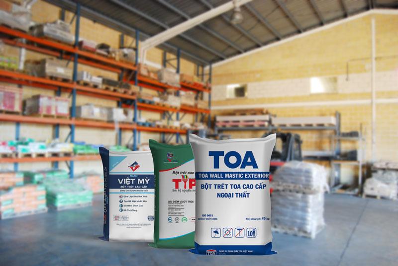 Bột trét tường cần được bảo quản ở nơi khô ráo, thoáng mát - tác hại của bột trét tường