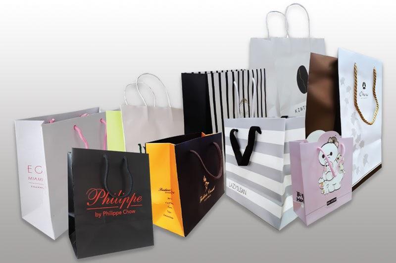 Ứng dụng sản xuất túi giấy - giấy tráng phủ
