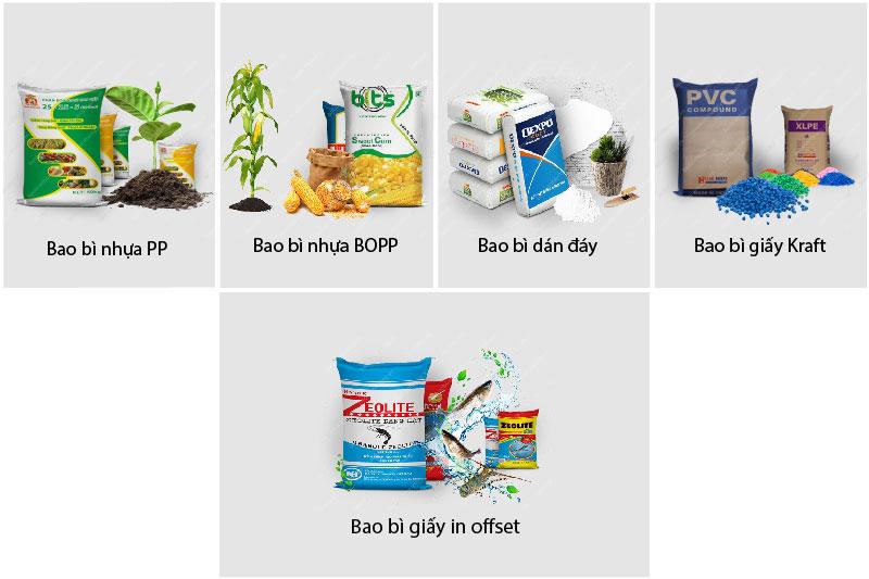 Các loại bao bì nhựa PP quen thuộc
