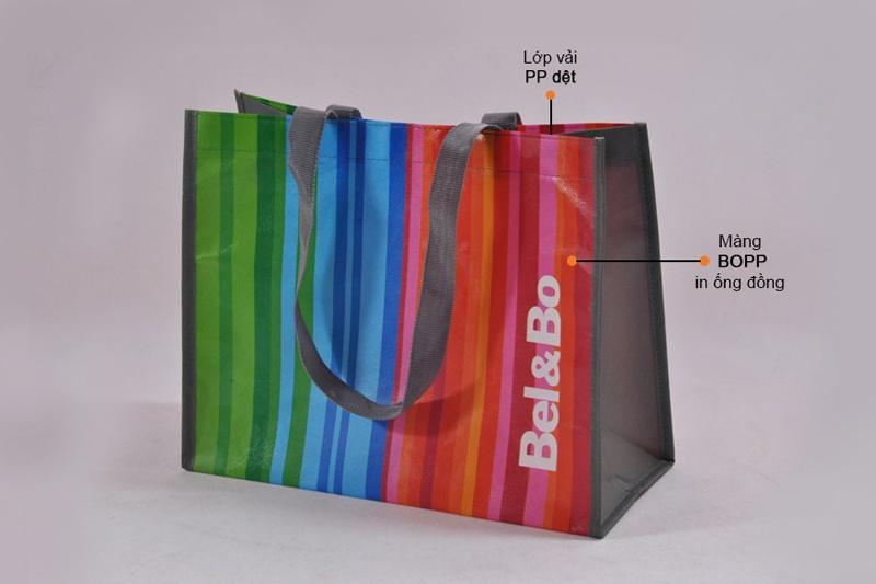 Cấu trúc túi 2 quai siêu thị tại BBAS