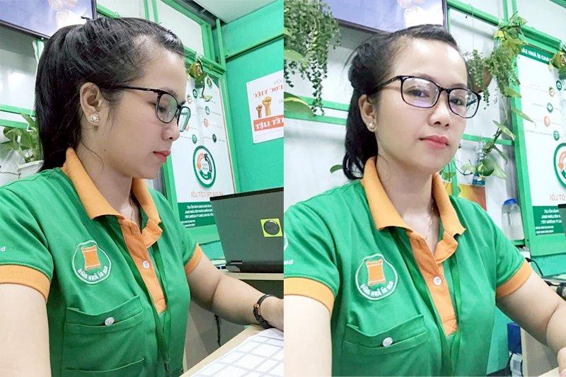 Chị Ngọc Anh hiện là tổ trưởng tổ KCS kiêm trường ban Trật tự - kỷ luật