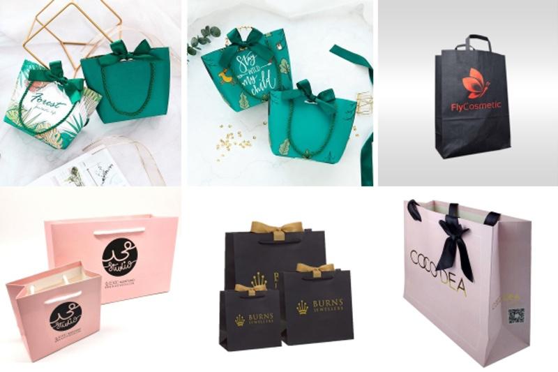 Nhiều doanh nghiệp đã thiết kế - in túi siêu thị để tạo ấn tượng với khách hàng