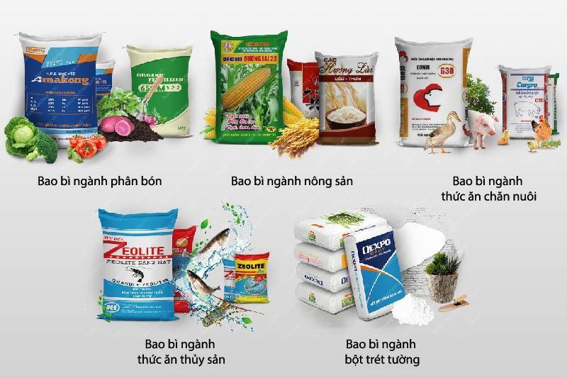 Các sản phẩm bao bì PP cao cấp của Bao Bì Ánh Sáng