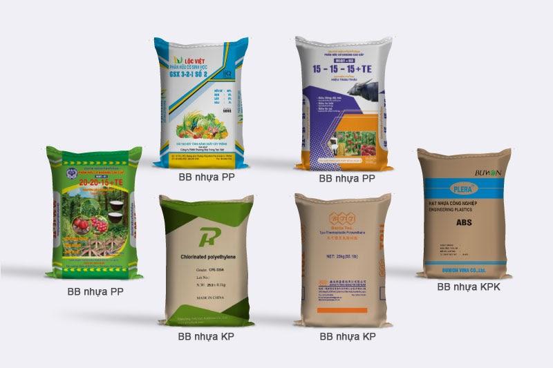 Những loại bao bì nhựa PP phổ biến