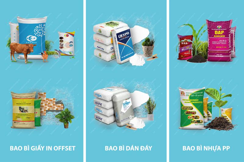 Những dòng sản phẩm tiêu biểu của Bao Bì Ánh Sáng