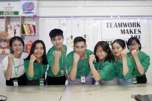 Team Maketing đoàn kết, quyết thắng!