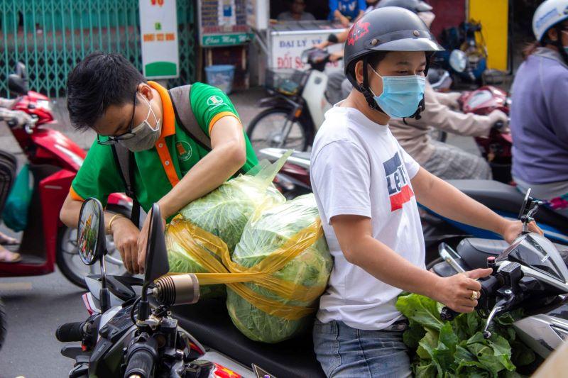 chiến dịch giải cứu rau củ được hưởng ứng đông đảo